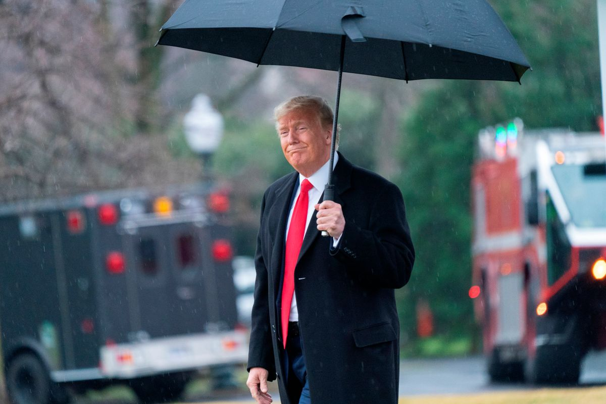 Donald Trump tiene un remedio natural para el coronavirus