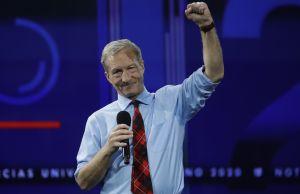 Tom Steyer se retira de la carrera presidencial demócrata