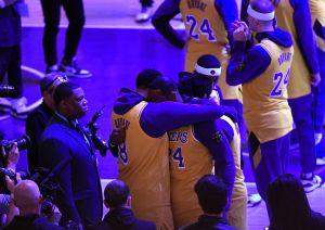 Incredulidad, llanto y oraciones: así se enteraron los jugadores de los Lakers de la muerte de Kobe Bryant