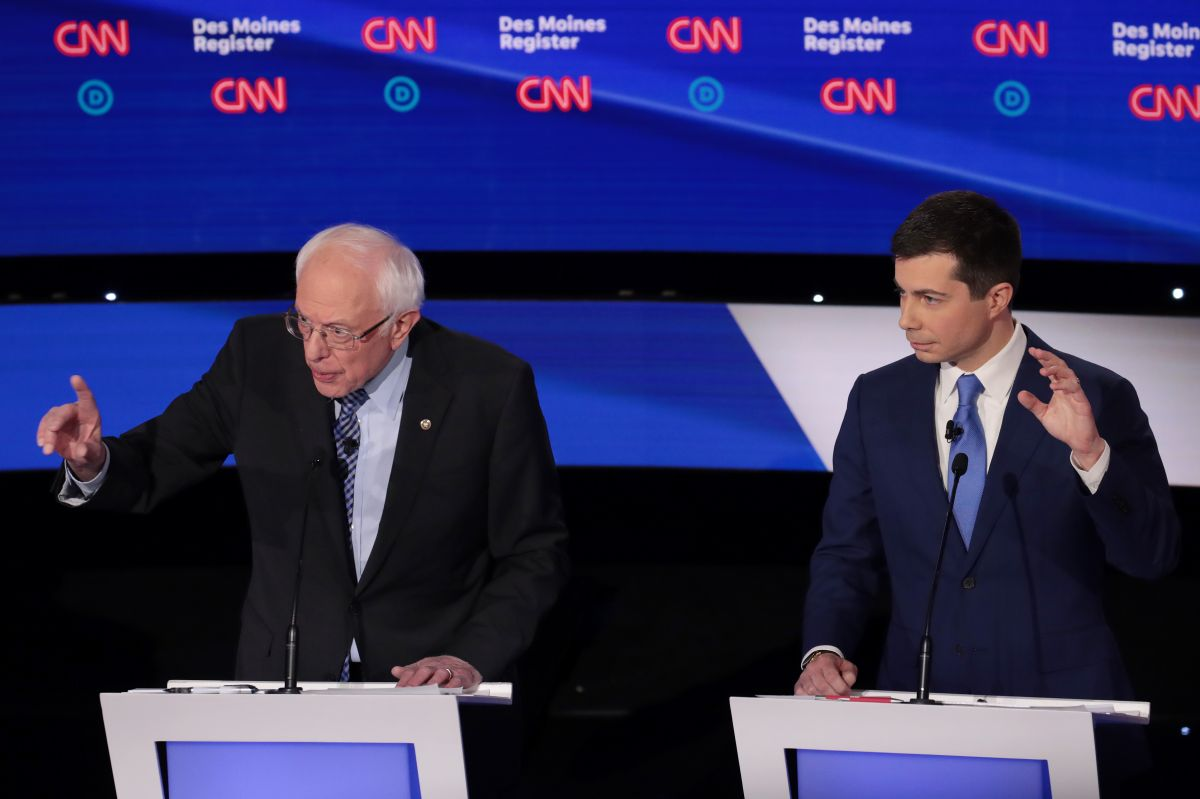 Pete Buttigieg y Bernie Sanders en virtual empate en Iowa; crecen críticas a proceso demócrata
