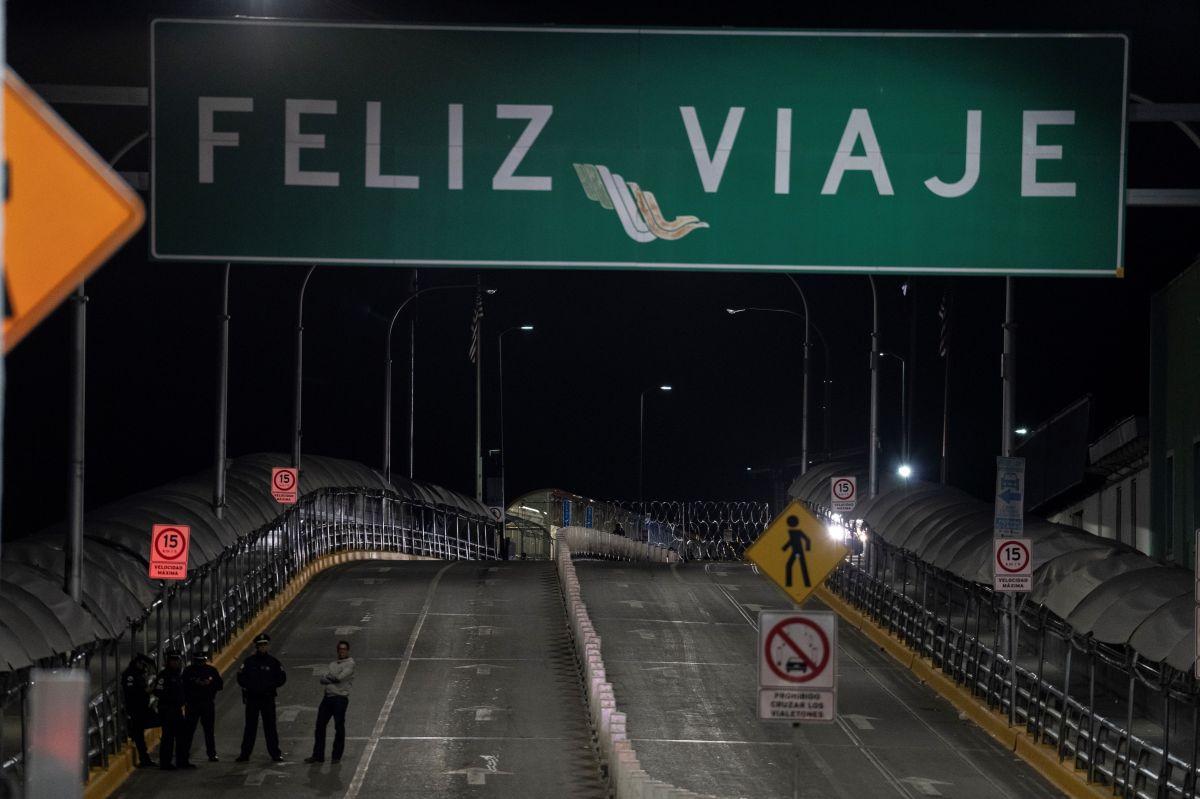 Cierran la frontera de El Paso por temor a ingreso masivo de inmigrantes