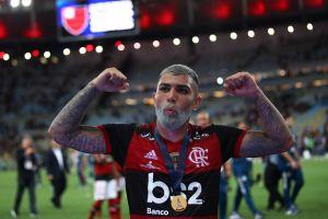 ¡Gabigol lo volvió a hacer! El brasileño marcó gol en otra final, ahora por la Recopa Sudamericana