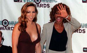 El día que Mariah Carey y Whitney Houston usaron el mismo vestido