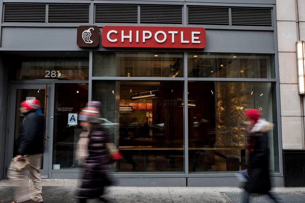 Chipotle contratará a 10,000 trabajadores