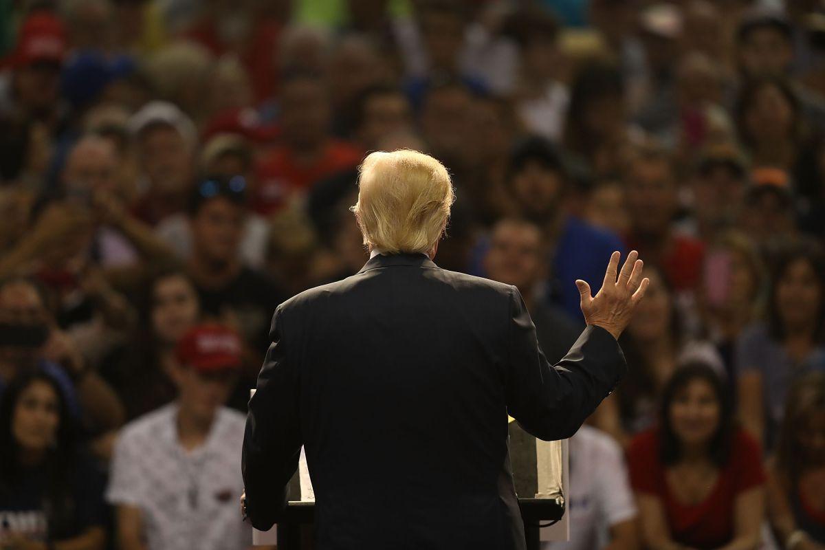 La controversial foto de Daytona que el jefe de campaña de Trump tuvo que borrar de Twitter… pero fue demasiado tarde