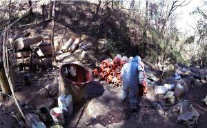 Golpe al Mayo Zambada, le desmantelan narcolaboratorio en Triángulo Dorado