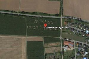 La propuesta de matrimonio de un granjero que se volvió viral gracias a Google Maps