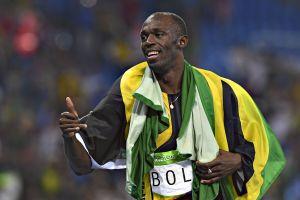 ¡En verdad es fan! Usain Bolt estuvo en el estadio apoyando a su Cruz Azul contra el Portmore