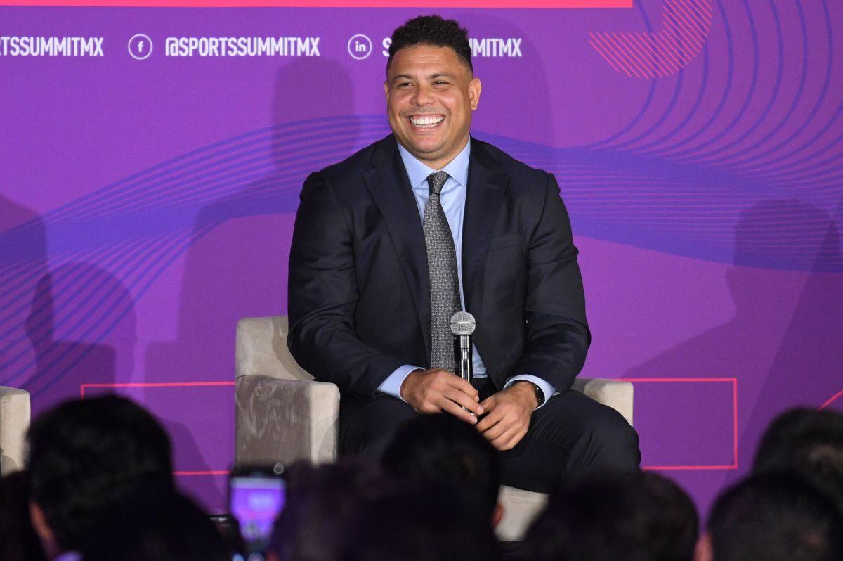 """Ronaldo buscaría jugadores para el Real Valladolid en México, pero """"los jugadores mexicanos son caros"""""""