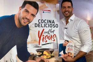 Chef Yisus lanza su propio libro de recetas y vivencias donde desnuda sus secretos