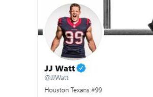 Texas: Se casó la estrella de los Houston Texans J.J. Watt con la futbolista Kealia Ohai