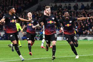 Champions League: de la mano de Timo Werner, el Leipzig sorprendió y venció a domicilio al Tottenham