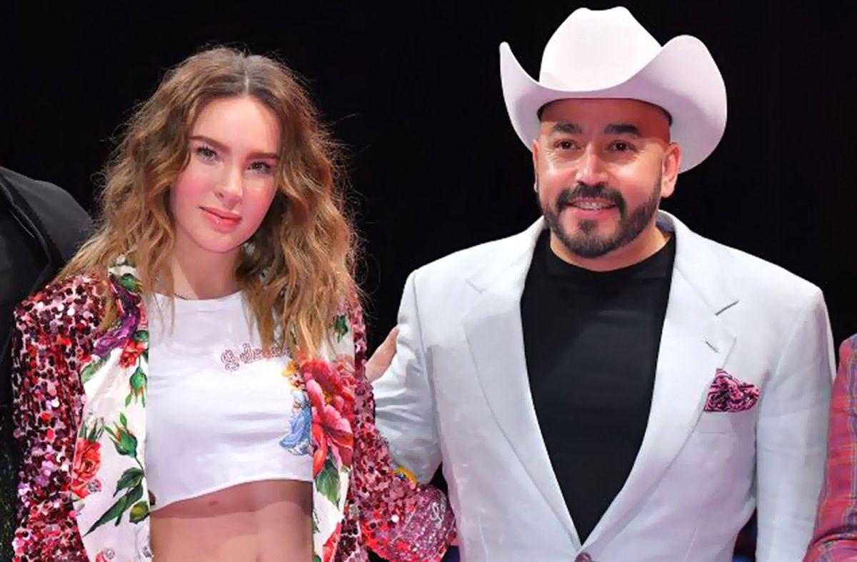 Lupillo Rivera se disculpa con Belinda por comentario que en realidad era para Nodal.