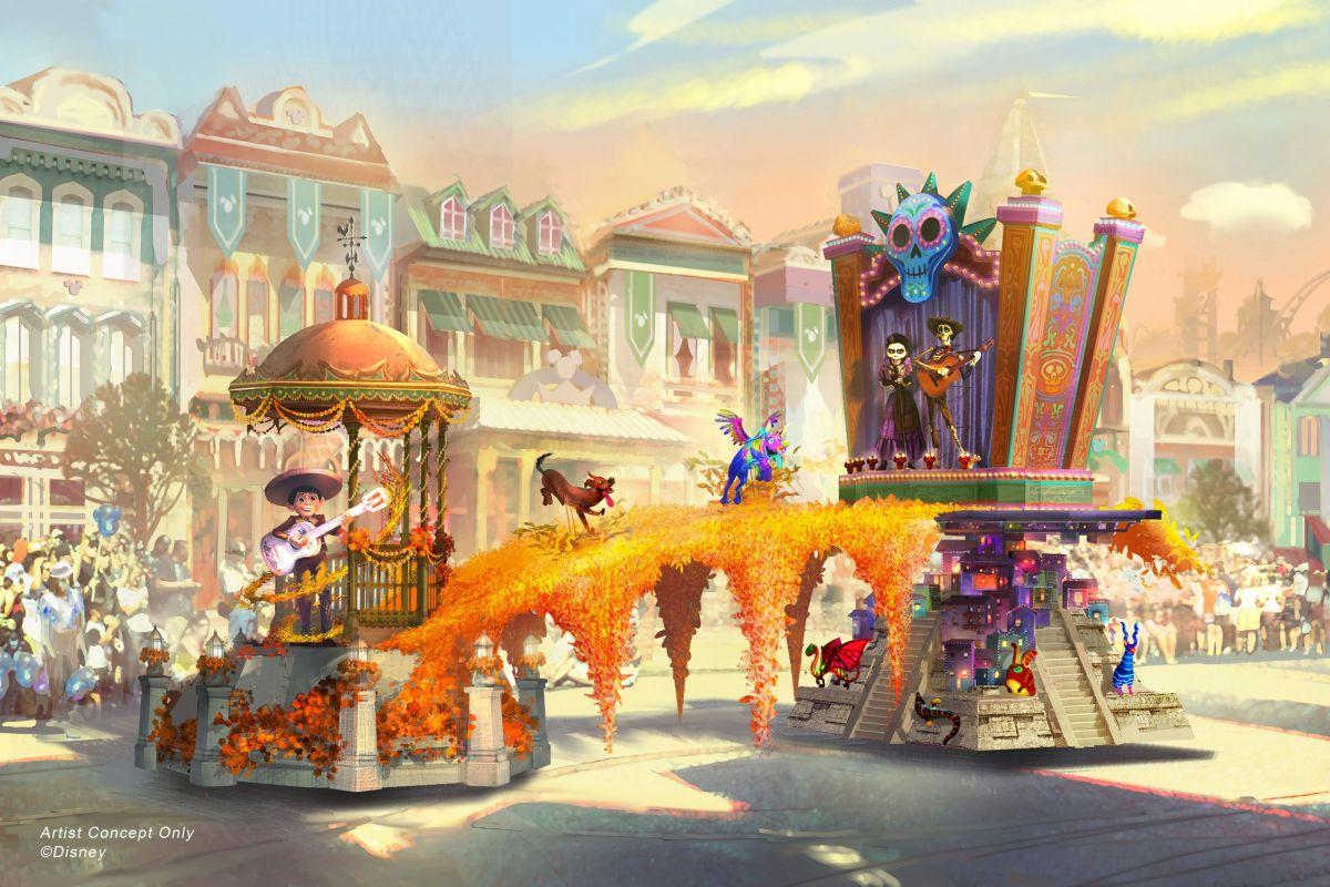 'Coco' tendrá presencia en desfile de Disneyland: será la primera carroza hispana