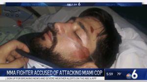 Un campeón de lucha libre arrestado en Miami peleó contra 12 policías