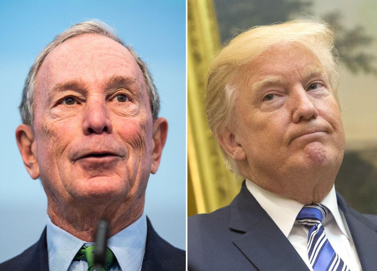 Pelea entre multimillonarios: Trump ataca a Bloomberg; éste contraataca… ¡y explota Twitter!