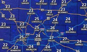 Se viene en los próximos días la sensación térmica más fría del corrido invierno en Texas