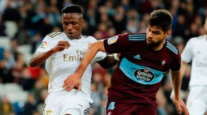 Partidazo de Araujo con el Celta para sacarle el empate a l Real Madrid