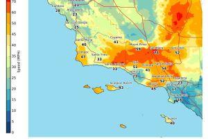 ¡Furia de Santa Ana! Fuertes vientos causan accidente en aeropuerto de Los Ángeles
