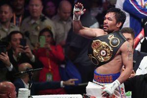 """Un """"póker de ases"""" espera a Manny Pacquiao, quien regresará a mitad de año"""