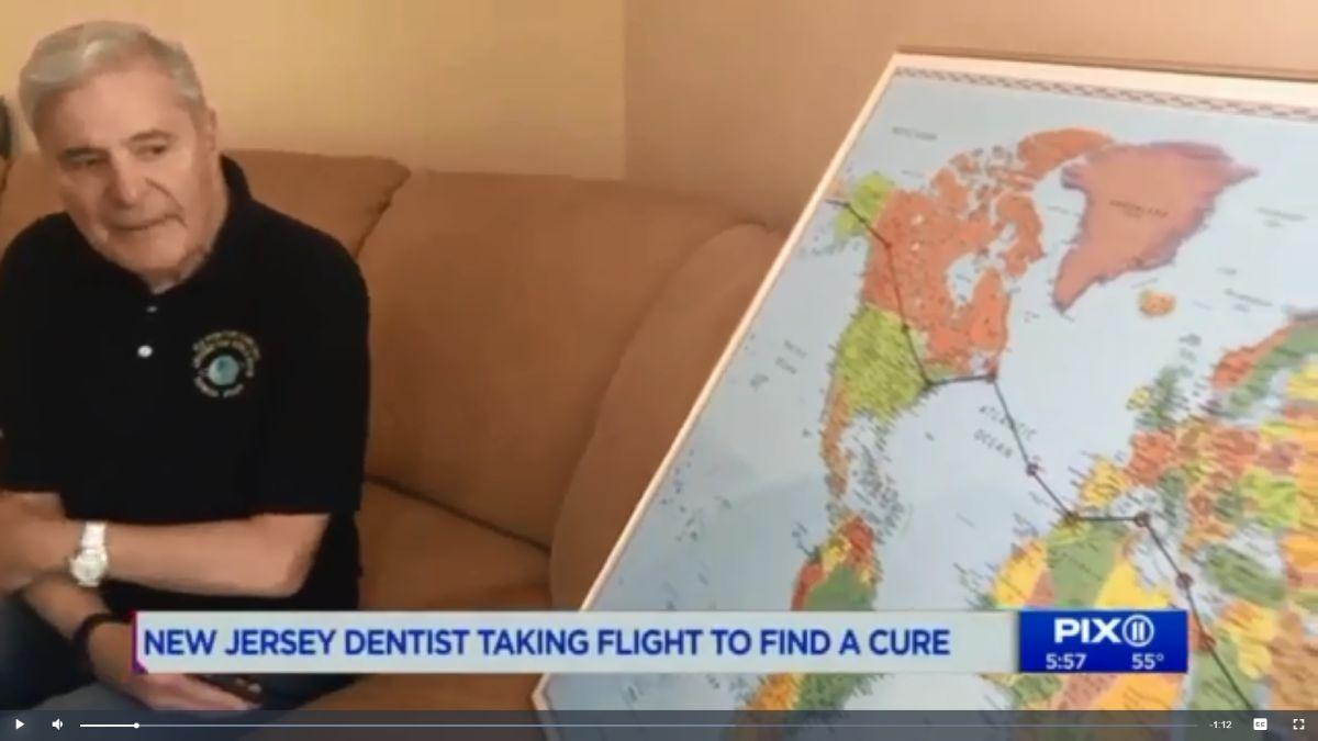 Por coronavirus, médico de 83 años de Jersey suspende recorrido por el mundo en avioneta en campaña contra el Alzheimer