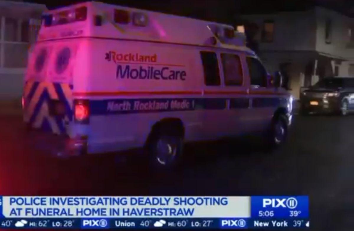 Tiroteo en funeraria dejó un muerto y un herido en Nueva York