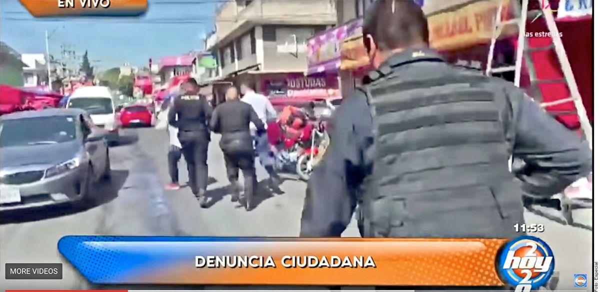 """Increíble: roban celular a conductor de """"Hoy"""" en plena transmisión en vivo"""