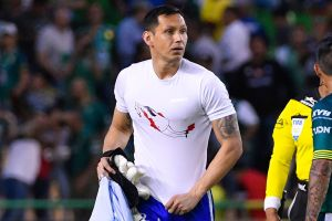 Rodolfo Cota apareció con una playera en contra de los feminicidios en México