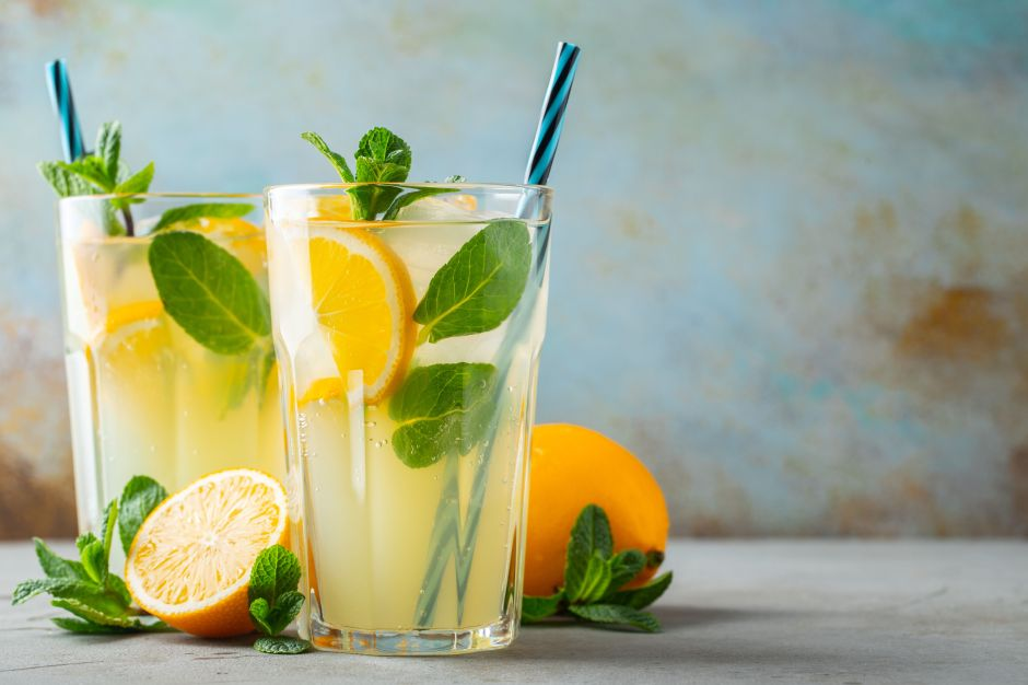 Desinflama el vientre y baja de peso en 7 días con naranjada de pepino y menta