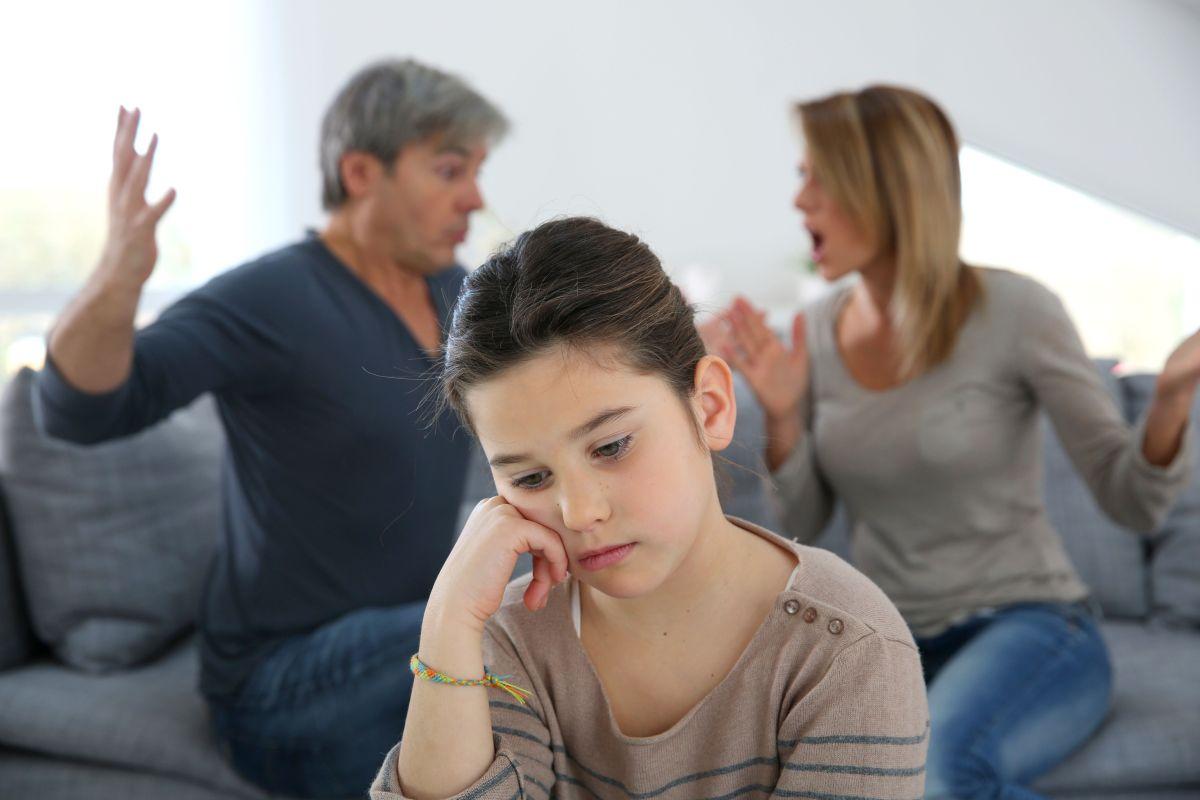 ¿Cómo podía explicarle a la niña que ya no había amor entre sus padres?
