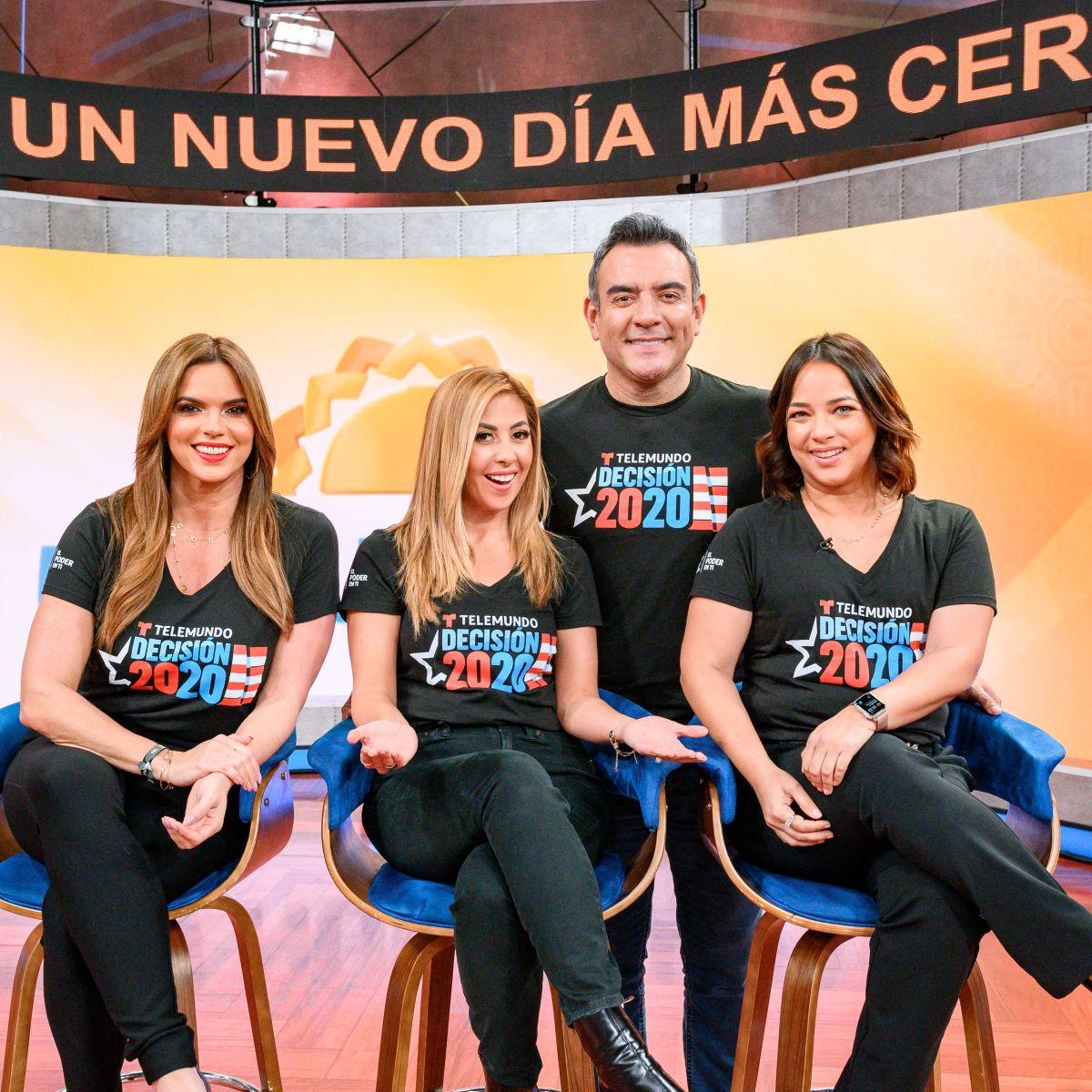 Decisión 2020, la apuesta política de Telemundo, incluye un nuevo noticiero nacional nocturno