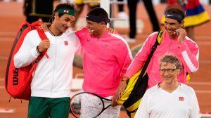 VIDEO: El mejor punto en la historia del tenis lo hicieron ¿Bill Gates, Federer y Nadal?