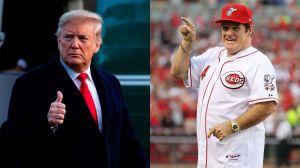 Trump pide que Pete Rose, expulsado del béisbol por apuestas ilícitas, ingrese al Salón de la Fama