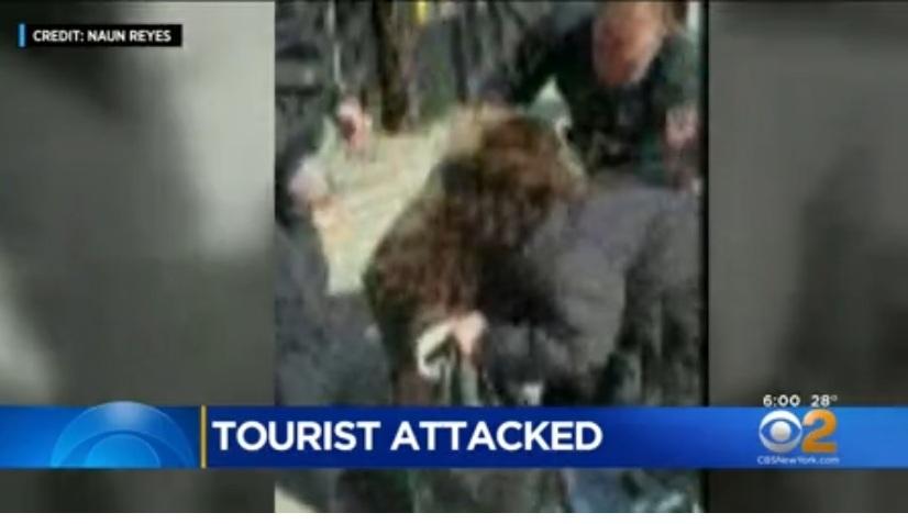 Apuñalan en el cuello a turista francés paseando con su novia en Nueva York