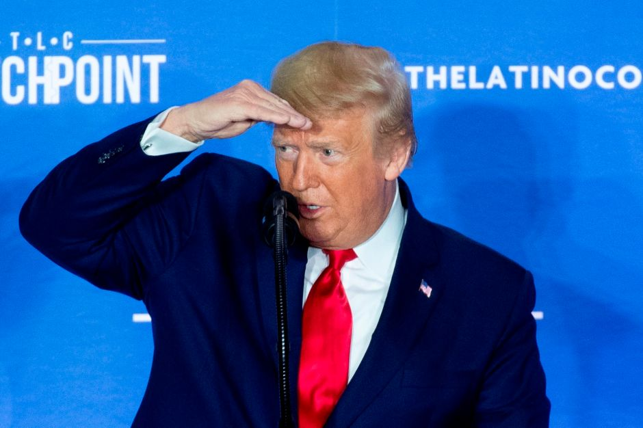 Coronavirus: Donald Trump extraña tocarse la cara
