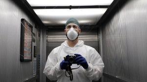 Las fotos de un enfermero en Italia que se encuentra combatiendo al coronavirus