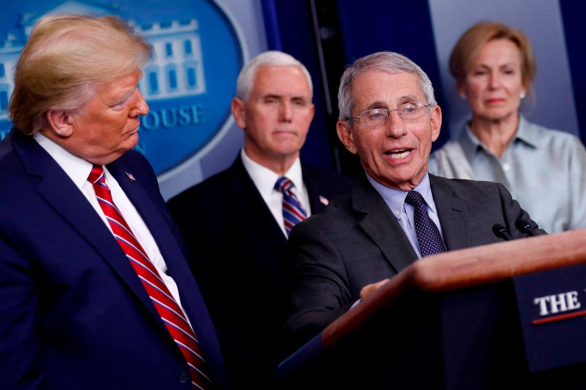 El Dr. Anthony Fauci corrige a Trump sobre coronavirus. ¿La Casa Blanca dejará que siga haciendo su trabajo?