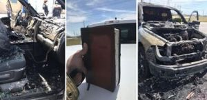 ¿Milagro? Su camioneta se quemó, pero su Biblia quedó intacta