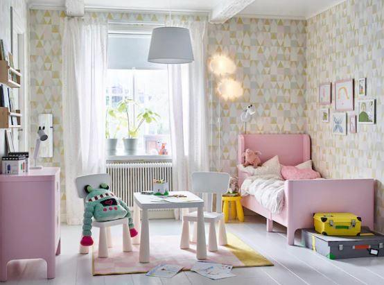 Crea toda una habitación de princesa con 5 artículos de Ikea por menos de $400