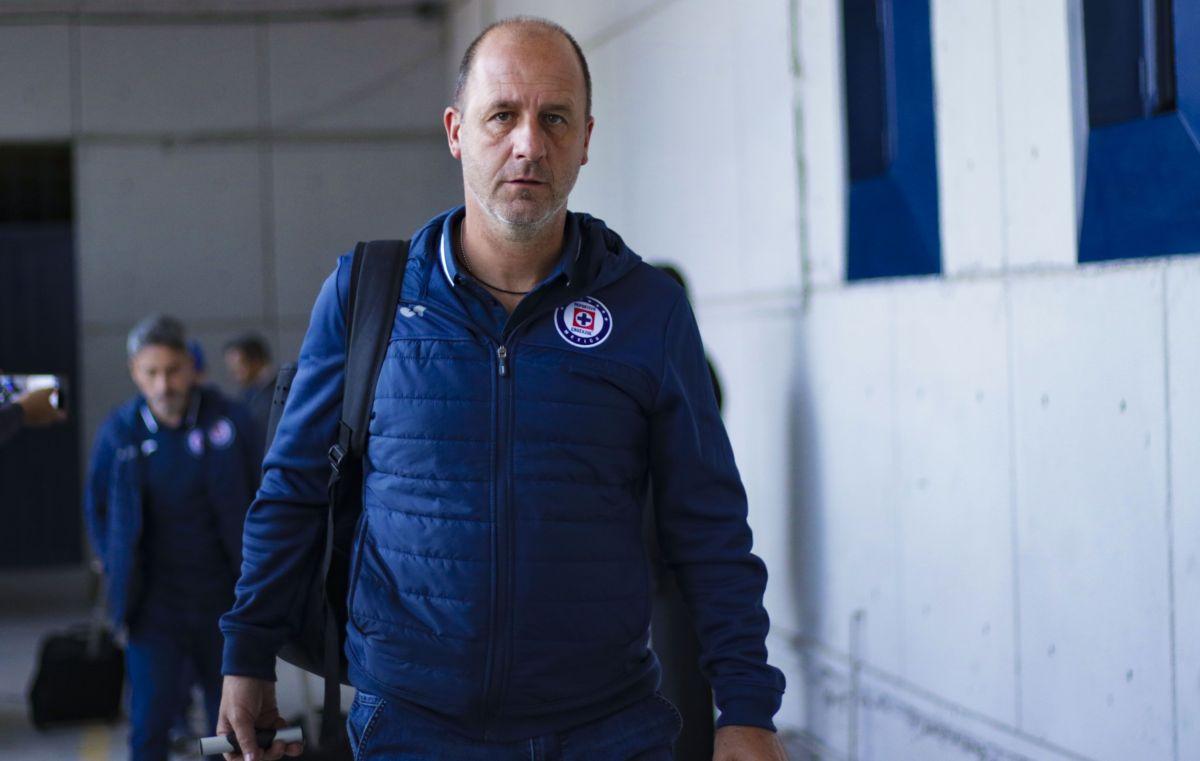 Gonzalo Cigliuti, auxiliar técnico de Cruz Azul.