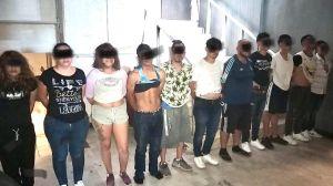 Detienen a 11 del Cártel del Noreste con drogas y arsenal, entre ellos 3 mujeres y un menor