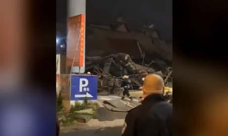 Decenas de atrapados entre escombros por colapso de hotel en China en cuarentena por coronavirus