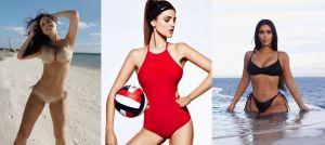Los bikinis y trajes de baño favoritos de las famosas y que estarán en tendencia esta Primavera y Verano