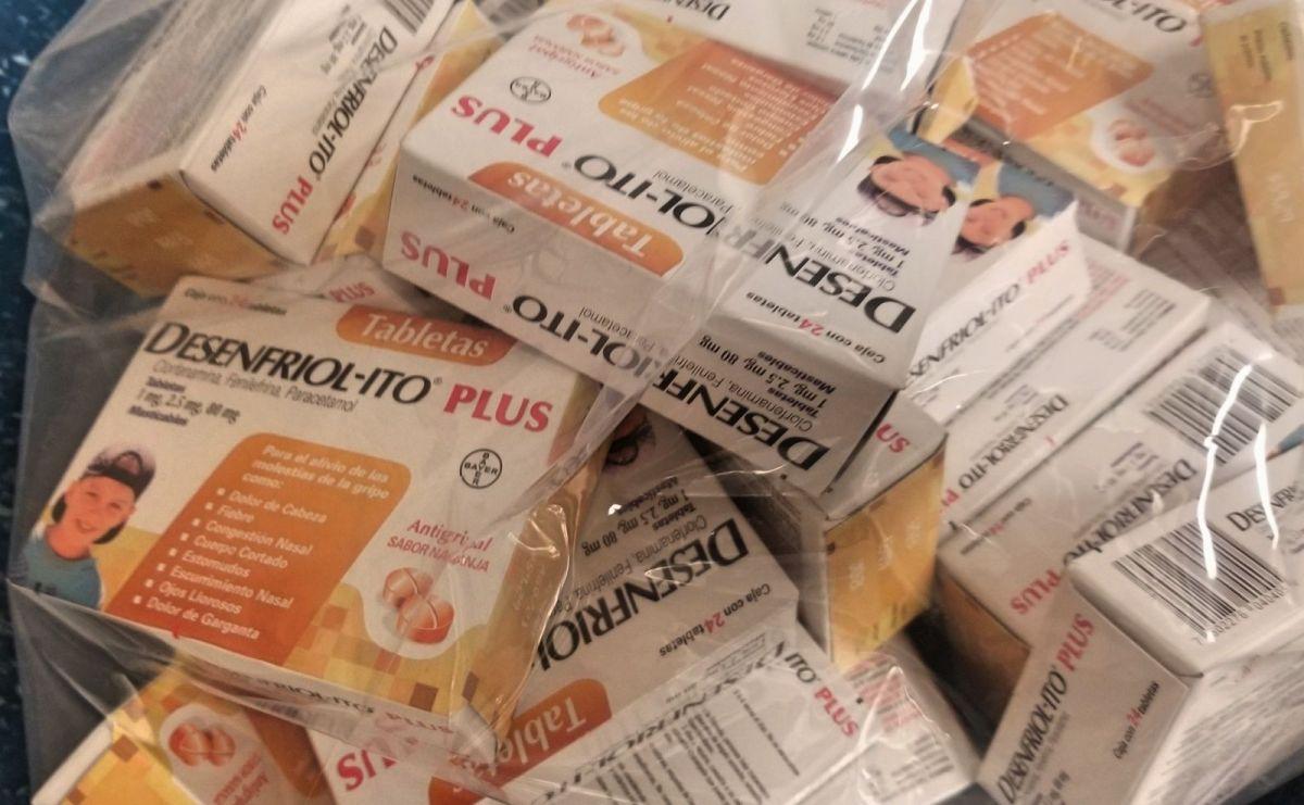 El contrabando en tiempos de coronavirus: Desenfriol-ito y Clorox para vender por internet