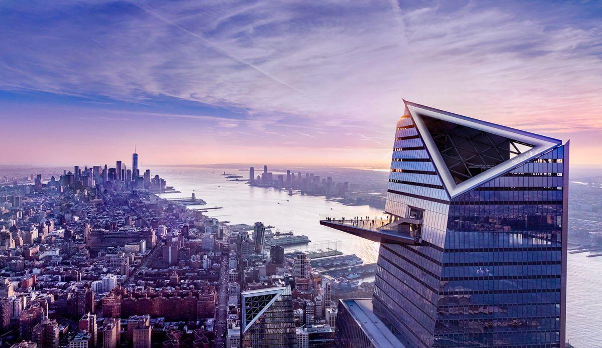EDGE, el observatorio al aire libre más alto de Nueva York, abrió en Hudson Yards en medio de crisis por coronavirus