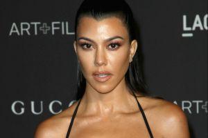 Kourtney Kardashian y su bikini diminuto dejaron poco a la imaginación