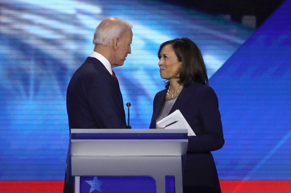 Kamala Harris apoya a Joe Biden, quien suma respaldo de cuatro exaspirantes presidenciales
