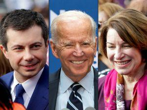 Buttigieg hace público su respaldo a Joe Biden. Klobuchar y otro excandidato planean hacer lo mismo