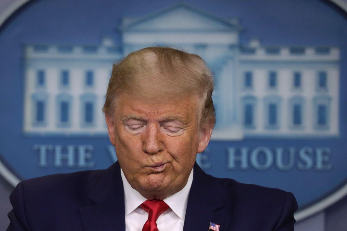 El presidente Trump busca que EEUU reactive su economía lo antes posible.