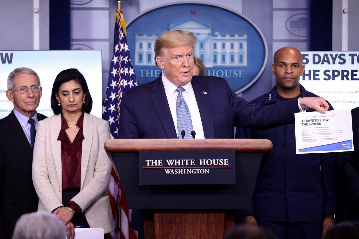 Estados Unidos supera los 41,000 contagios de coronavirus, pero temen que Trump quiera relajar medidas pronto